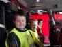 Grupa V z wizytą w jednostce straży pożarnej - kwiecień 2014