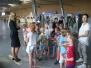 Klasa 2c zwiedza lotnisko Ławica - wrzesień 2016