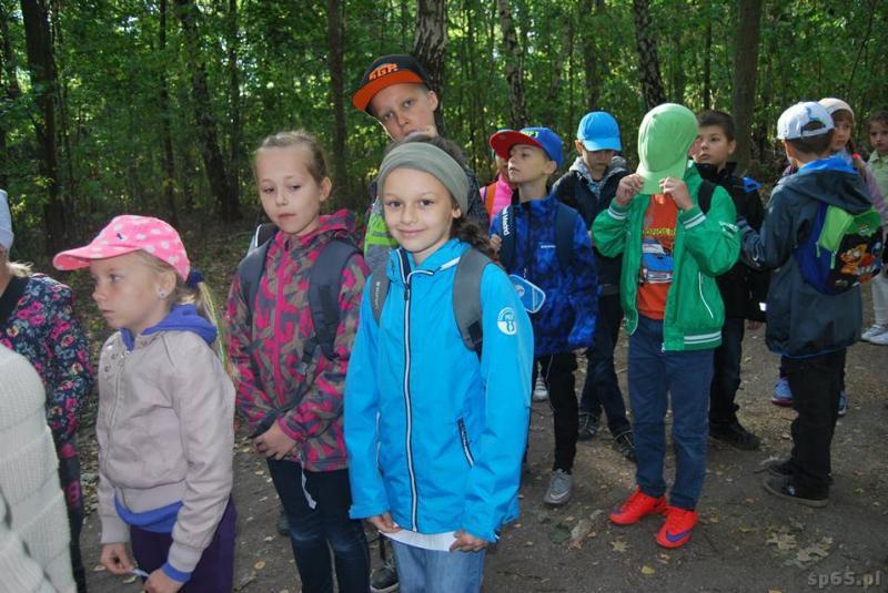 Galeria: Klasa 3b w rezerwacie Żurawiniec - wrzesień 2015