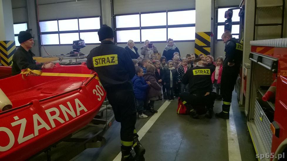 Galeria: Odwiedziny u strażaków - luty 2017