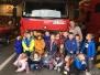 Przedszkolacy odwiedzają strażaków - luty 2017