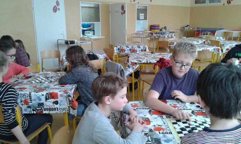Galeria: Szkolny turniej w WARCABY - styczeń 2016