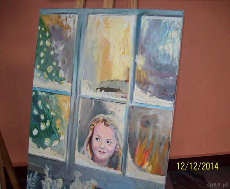 Galeria: Wystawa obrazów olejnych Jerzego Omelczuka - grudzień 2014